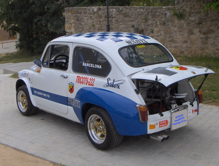 Seat 600 Racing Se Vende Seat 600 Abarth